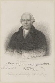William Fox, by Samuel Freeman - NPG D10571