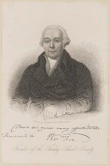 William Fox, by Samuel Freeman, published 1827 - NPG D10571 - © National Portrait Gallery, London