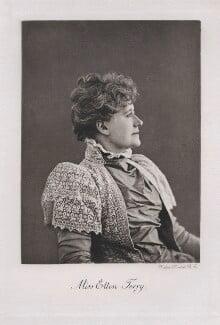 Ellen Terry, by Walker & Boutall, after  Sir Emery Walker - NPG x19637