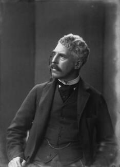 Sir Squire Bancroft Bancroft (né Butterfield), by Sir Emery Walker - NPG x19639