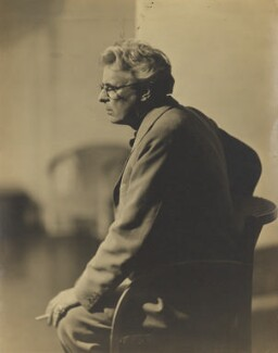 W.B. Yeats, by Howard Coster - NPG x1965