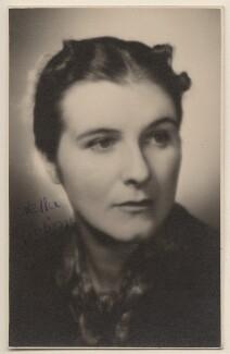 Stella Dorothea Gibbons (Mrs A.B. Webb), by Yvonne Gregory - NPG x19846