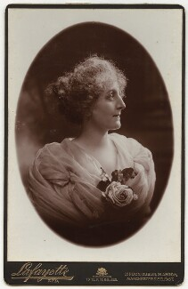 Sarah Helena Latham (née White), by Lafayette - NPG x19893