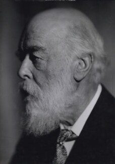 Sir Oliver Joseph Lodge, by Howard Coster - NPG x1990