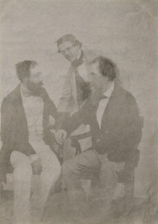 Sir Herbert Benjamin Edwardes; George Lawrence; Sir Henry Montgomery Lawrence, after Ahmed Ali Khan - NPG x19914