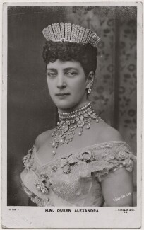 Queen Alexandra, by Lafayette, published by  J. Beagles & Co - NPG x19943