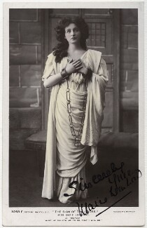 Marie Leonhard as Mercia in 'The Sign of the Cross', by Foulsham & Banfield, published by  Rotary Photographic Co Ltd - NPG x20012