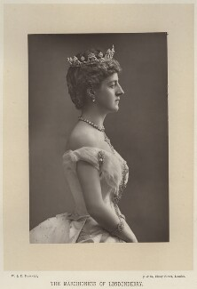 Theresa Susey Helen (née Talbot), Marchioness of Londonderry, by W. & D. Downey, published by  Cassell & Company, Ltd - NPG x20087