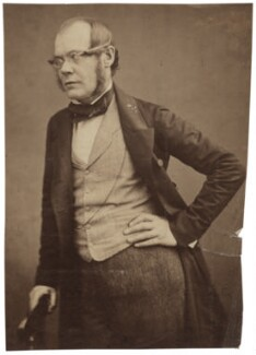 David Thomas Ansted, by Maull & Polyblank - NPG x20098