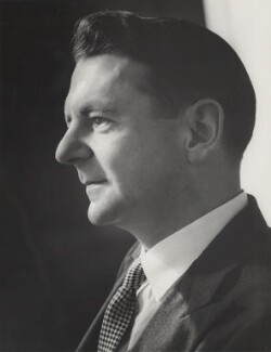 Robert Cecil Romer Maugham, 2nd Viscount Maugham, by Howard Coster - NPG x2013
