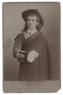Harry Lonsdale (Henry Gittus Lonsdale) as the Marquis de Corneville in 'Les Cloches de Corneville', by London Stereoscopic & Photographic Company - NPG x20139
