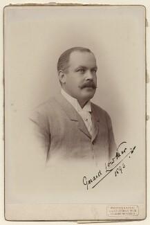 Sir Gerard Augustus Lowther, 1st Bt, by Dr Székely - NPG x20158