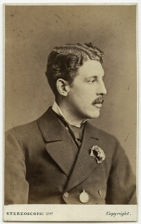 Sir Squire Bancroft Bancroft (né Butterfield), by London Stereoscopic & Photographic Company - NPG x204