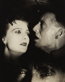 Rosalinde Fuller and Maurice Browne in 'The unknown Warrior', by Francis Bruguière, 1928 - NPG  - © reserved; collection National Portrait Gallery, London