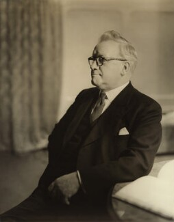 Herbert Stanley Morrison, Baron Morrison of Lambeth, by Howard Coster - NPG x2045