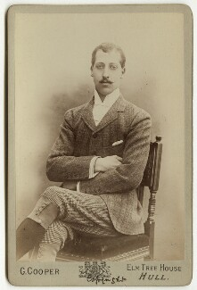 Prince Albert Victor, Duke of Clarence and Avondale, by George Cooper - NPG x20454