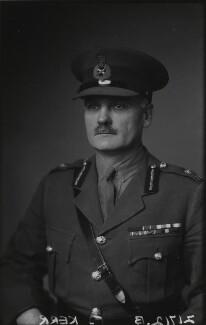 Sir (Harold) Reginald Kerr, by Walter Stoneman - NPG x20506