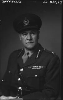 William Maingay Ozanne, by Walter Stoneman, 1945 - NPG x20520 - © National Portrait Gallery, London