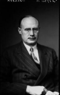 Sir Laurence Collier, by Walter Stoneman - NPG x20529