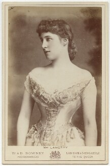Lillie Langtry, by W. & D. Downey - NPG x20590