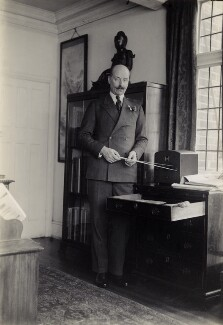 Sir Adrian Boult, by Elsie Gordon - NPG x20613