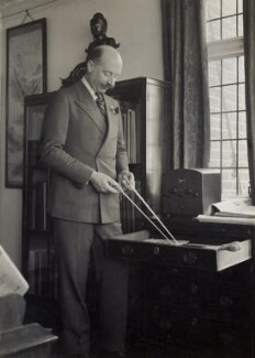 Sir Adrian Boult, by Elsie Gordon - NPG x20615