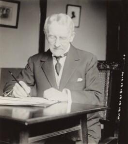Sir Edward German, by Elsie Gordon - NPG x20619