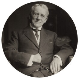 Sir Edward German, by Elsie Gordon - NPG x20620