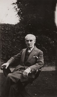 Maurice Ravel, by Elsie Gordon - NPG x20654