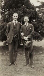 Cecil Armstrong Gibbs; Sir Arthur Bliss, by Elsie Gordon - NPG x20658