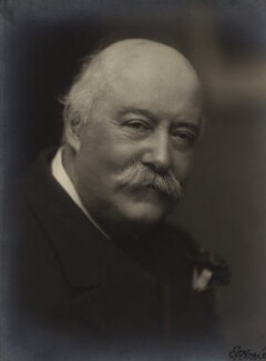Sir (Charles) Hubert Hastings Parry, 1st Bt, by Emil Otto ('E.O.') Hoppé, 13 November 1915 - NPG x20677 - © 2017 E.O. Hoppé Estate Collection / Curatorial Assistance Inc.