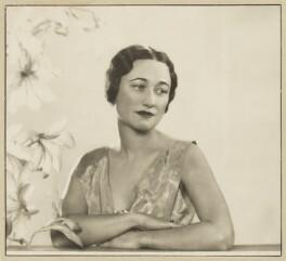 Wallis, Duchess of Windsor, by Dorothy Wilding - NPG x20685