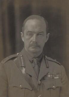 Sir Webb Gillman, by Walter Stoneman - NPG x20764