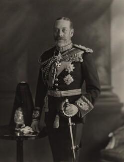 King George V, by H.R. Wicks, for  Bassano Ltd - NPG x21153