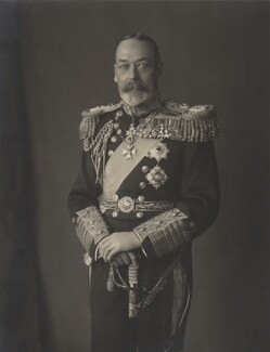 King George V, by H.R. Wicks, for  Bassano Ltd - NPG x21155