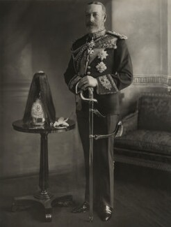 King George V, by H.R. Wicks, for  Bassano Ltd - NPG x21154