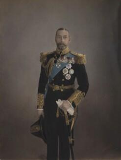 King George V, by H.R. Wicks, for  Bassano Ltd - NPG x21156