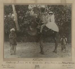 Melbourne Inman; Florence Inman (née Ambler), by Dawson & Sons - NPG x21184