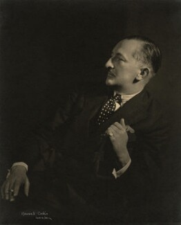 (Herman) Cyril McNeile, by Howard Coster - NPG x21190
