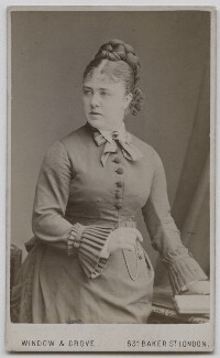 Marie Effie (née Wilton), Lady Bancroft, by Window & Grove - NPG x212