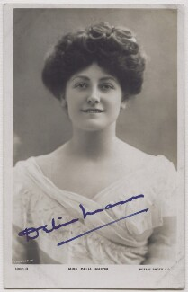 Delia Mason, by Lemeilleur, published by  Rotary Photographic Co Ltd - NPG x21229