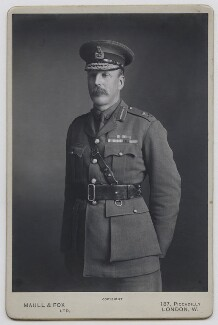 Sir Frederick Stanley Maude, by Maull & Fox, 1917 or before - NPG x21261 - © National Portrait Gallery, London