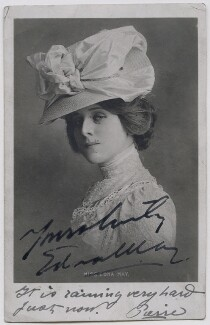 Edna May (Edna Pettie), published by Charles Voisey - NPG x21280