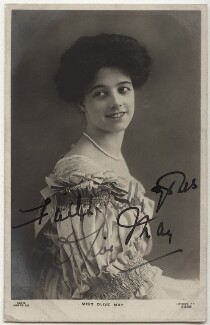 Olive May (née Olive Mary Meatyard), Countess of Drogheda, published by Rapid Photo Co - NPG x21283