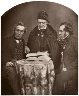 William Clements; Thomas Dodd; Joseph Mayer, by Unknown photographer - NPG x21285