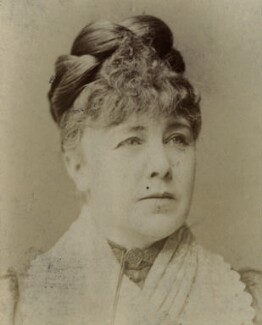 Marie Effie (née Wilton), Lady Bancroft, by Unknown photographer - NPG x213