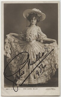 Gertie Millar, by W. & D. Downey, mid 1900s - NPG x21339 - © National Portrait Gallery, London