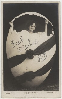 Gertie Millar, published by Rotary Photographic Co Ltd, 1900s - NPG x21340 - © National Portrait Gallery, London