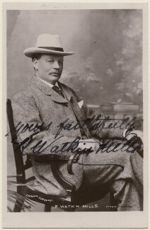 Robert Watkin Mills, by James Charles Dinham, published by  Rotary Photographic Co Ltd - NPG x21351