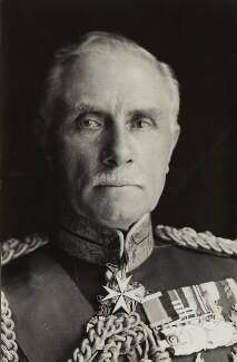 George Francis Milne, 1st Baron Milne, by Olive Edis - NPG x21353